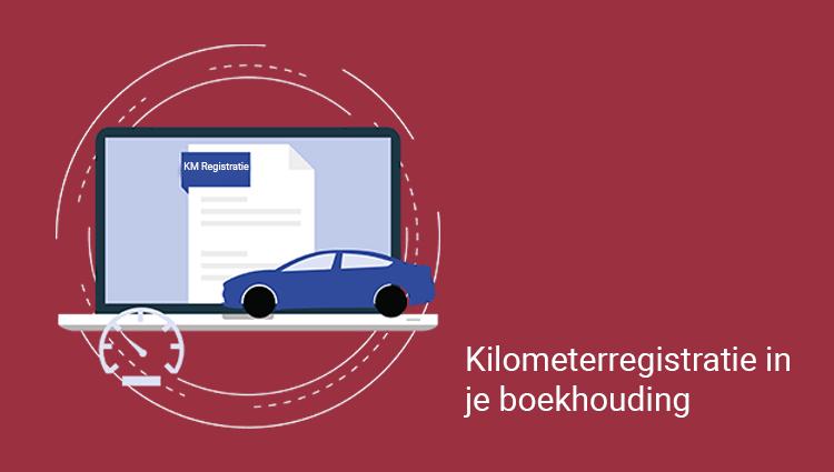 Kilometerregistratie in je boekhouding
